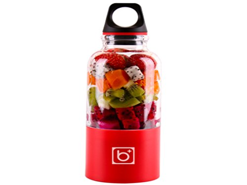 Bingo Personal Smoothie Blender Rechargeable Electric Juice Maker Portable Drink Mixer with 500ml Water Bottle for Office Outdoors Travelling (Bottle Water Machine compare prices)