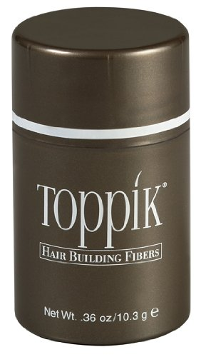 Toppik Hair Building Fibers in Light Brown, 75 Day Supply - 0.87 oz./25g.