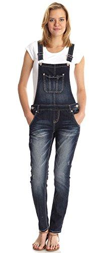 WallFlower Juniors Denim Overalls adult mens light blue overalls denim suspender pants men salopette jeans new arrival slim straight jumpsuit 71401