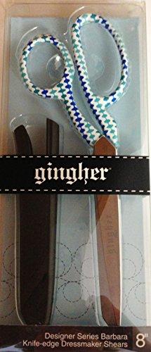"Fiskars Gingher Designer Series Barbara 8"" Dressmaker Shears 2014 Release Limited Edition Scissors"