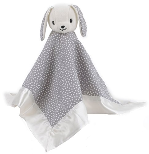 Balboa Baby Bunny Security Blanket, Grey/White Dot (Customize Blankets compare prices)