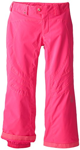 Spyder Girls Thrill Athletic Fit Pant, 20, Bryte Bubblegum/B