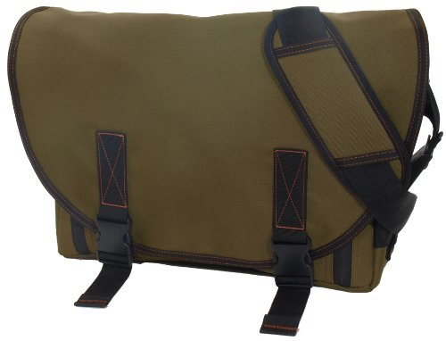 Dadgear The Classic Messenger Diaper Bag - Olive Green