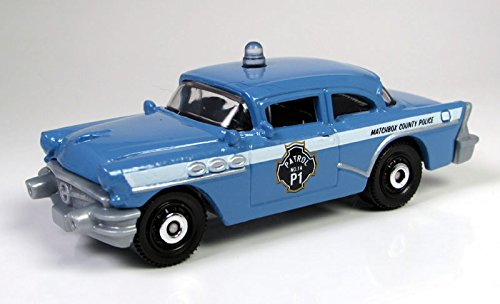 Matchbox – '56 Buick Century Police hellblau – MBX Heroic Rescue – USA Polizei Auto online bestellen
