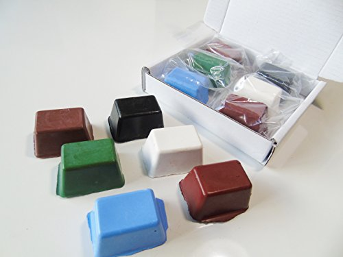 jewellers-buffing-rouge-polishing-compound-precious-metal-polishing-brown-green-blue-white-red-multi