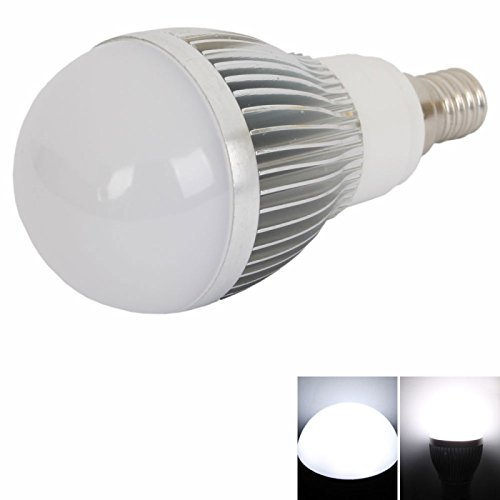Ball Bulbs - E14 6W 15 Smd5630 Led 500-600 Lumen White Ball Light Bulb Lamp (220V)