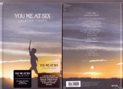You me at Six Cavalier Youth Signed Deluxe Bookpack (Cd/Dvd)