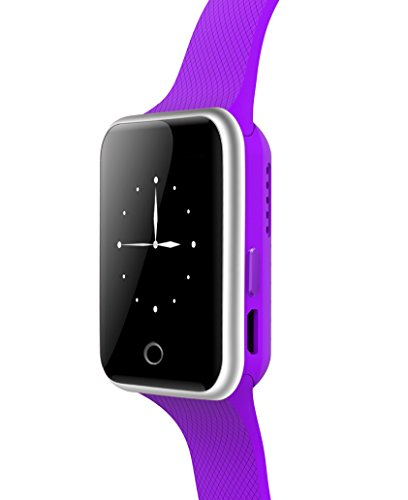 SMARTFLY L16 Caller ID Show Bluetooth Vibrating Bracelet Color Purple