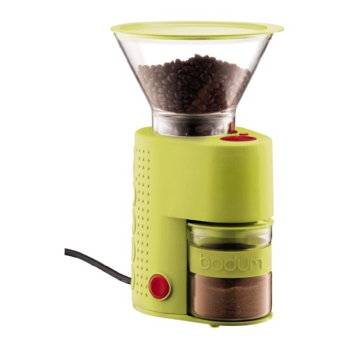 Bodum BISTRO electric coffee grinder lime green 10903-565