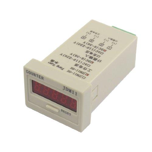 Jdm11-5H Reset Panel Mode 5 Digits Led Display Panel Digital Counter Dc24V