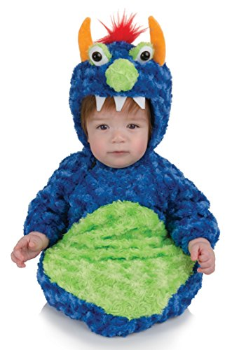Underwraps Baby's Monster Bunting Belly-Babies, Blue/Green, Infant
