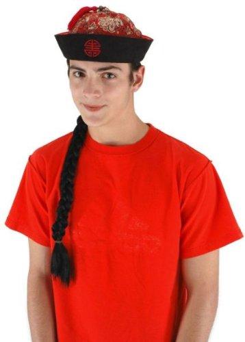 Asian Mandarin Hat with Braid (Mandarin Hat With Braid)