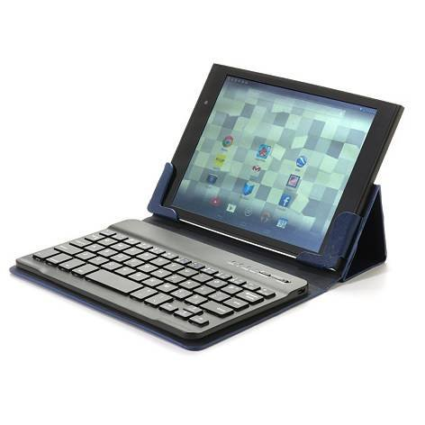 "Lepan Mini 8"" Case With Bluetooth 3.0 Keyboard - Blue, Compatible With Ipad Mini, Lepan Mini And Other 8"" Tablets"