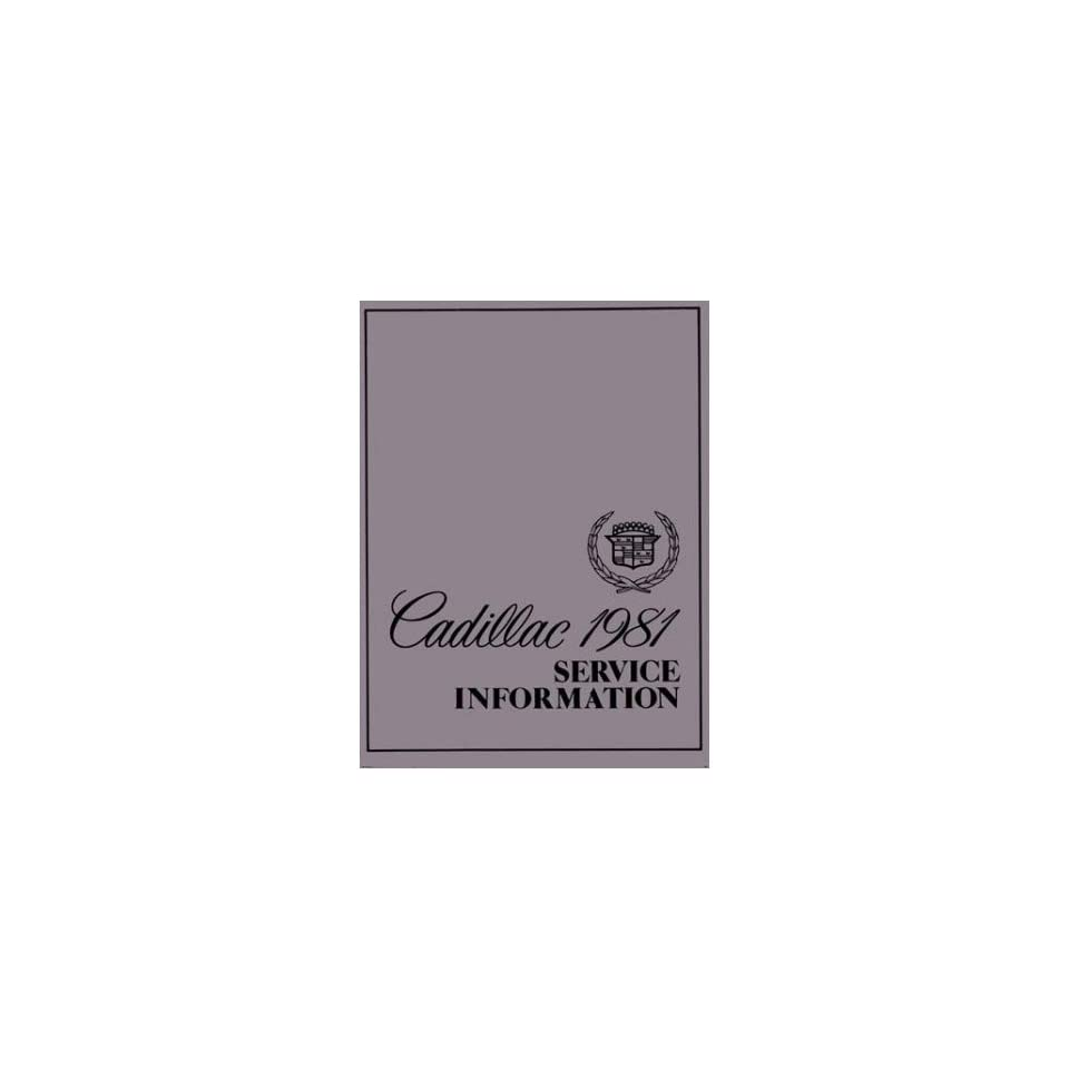 1988 Cadillac Deville Fleetwood Service Shop Repair Manual Engine Drivetrain OEM