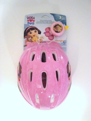 Dora-Pets-Helmet-Value-Pack-Toddler-Bell-Included