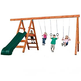 Swing-N-Slide Pioneer Deluxe DIY Play Set Hardware Kit with Slide