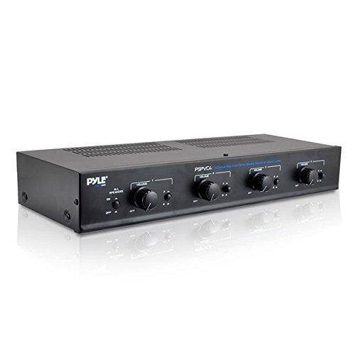 PyleHome-PSPVC4-4-Kanle-Stereo-Lautsprecher-mit-Lautstrkeregler-Selector