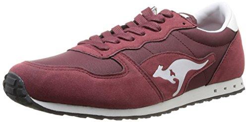 Kangaroos  Blaze IV,  Sneaker uomo Rosso Rouge (Dk Wine/Burgundy 662) 42