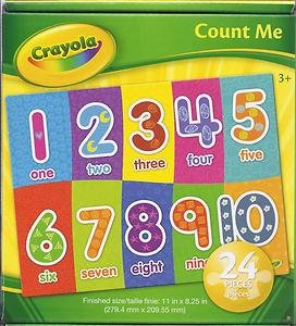 Crayola Count Me 24-pc Puzzle by Dalmatian Press