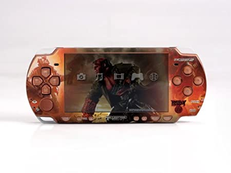 HELLBOY PSP (Slim) Dual Colored Skin Sticker, PSP 2000