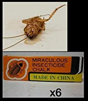6 Pieces Miraculous Cockroach Chalk Insecticide Odorless Kill Ant