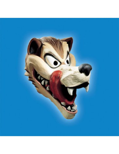 Scary-Masks Wolf Hungry Mask Halloween Costume - Most Adults