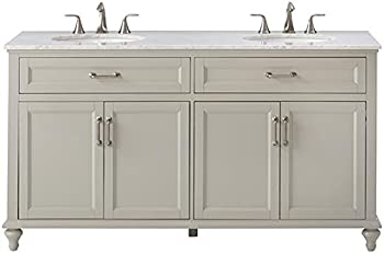 Home Decorators 61 in. W x 39 in. H Bath Vanity