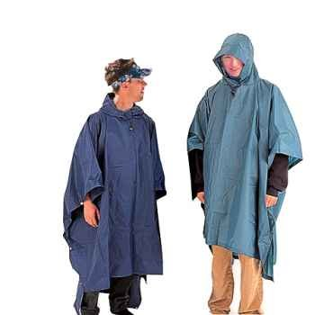 Liberty Mountain Backpacker Poncho Navy Rain Gear