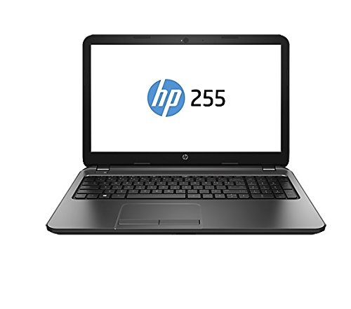 "HP 255 G3 J4R73EA - Portátil de 15.6"",AMD Dual-Core E1-6010, 1.35 GHz, 4 GB RAM, 500 GB disco duro, Radeon R2 Graphics, Windows 8.1,QWERTY,  Negro"