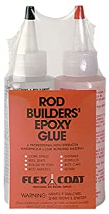 Flex Coat 4oz Rodbuilders Epoxy Glue by Flex Coat