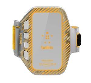 Belkin Neopren EaseFit Plus spritzwassergeschütztes Sport Armband für HTC One orange
