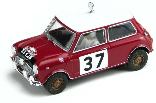 Scalextric C2919 - Morris Mini Cooper - Monte Carlo 1964
