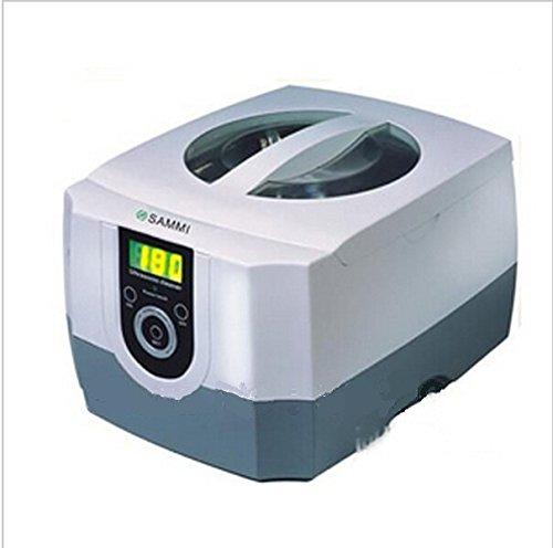 GOWE 1400 ml Kunststoff weiß Mini Digital Ultraschallreiniger für Home-Verwendung