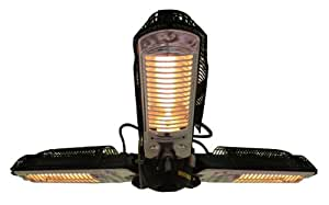 Fire Sense Indoor/Outdoor Infrared Heater with Patio