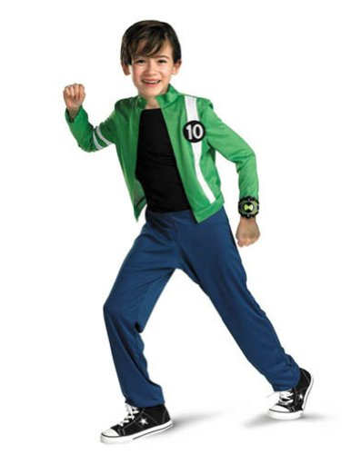 Ben 10 Alien Force Classic Md Kids Boys Costume