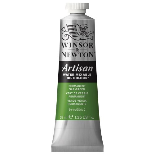 artisan-water-mixable-oil-paint-37ml-tube-permanent-sap-green