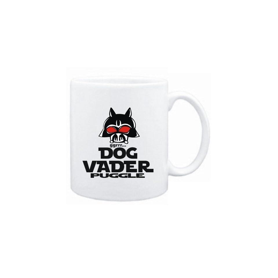 Mug White  DOG VADER  Puggle  Dogs