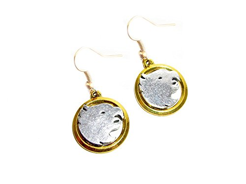 [Legends of Tomorrow Hawkgirl Earring Dangles In Gift Box from Outlander] (Hawkgirl Cosplay Costume)