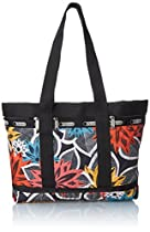 LeSportsac Medium Travel Tote, Caraway Floral, One Size