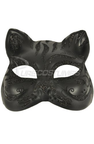 Tiger Colombina Mask (Black/Black)
