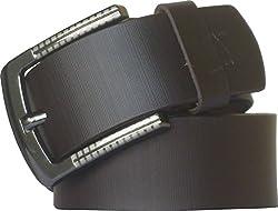 Sondagar Arts Men's Belt (SAB83_Brown_34)