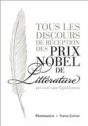 Tous les discours de réception des prix Nobel de littérature