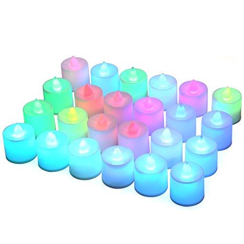 ledertek-24-packs-battery-powered-coloured-flameless-flickering-electric-tea-candles-lights-novelty-