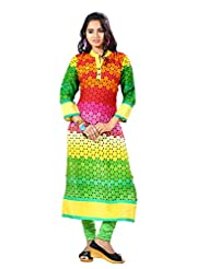 Arista Designer Ready To Wear Green Kurti Size - 38 (KR93)