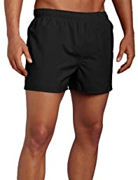 Speedo Surf Runner Volley Swim Trunks, Black, Large