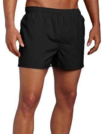 Speedo Surf Runner Volley Swim Trunks, Black, Small
