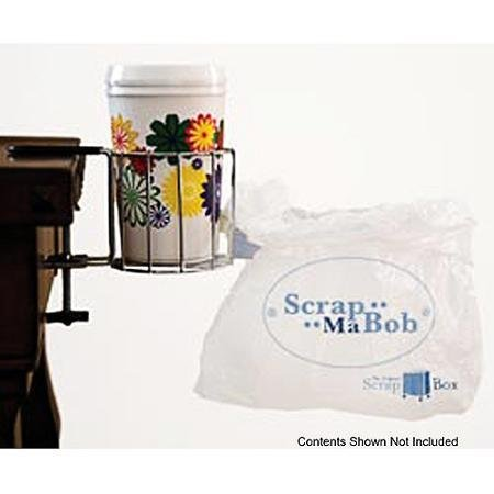 Scrap-Ma-Bob Cup & Bag Clamp-On Holder