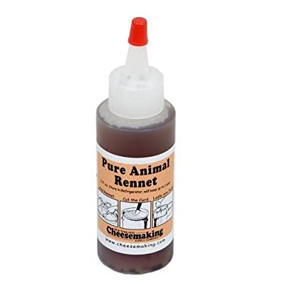 1 X Liquid Animal Rennet 2 oz.