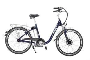 e-Moto Ecco 2.5 Electric Cruiser Bicycle (Blue, 26-18-Inch)