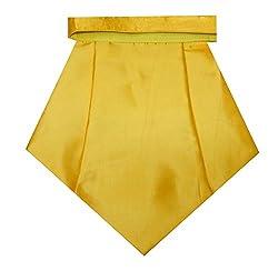 Navaksha Shimmer Yellow Cravat